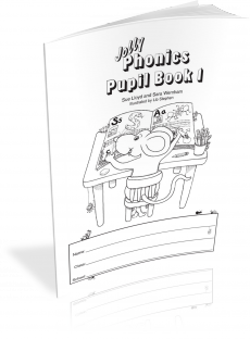 Jolly phonics pupils book 2 black & white €2. 66.